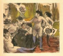 Madame's Birthday Party by Edgar Degas (1878)